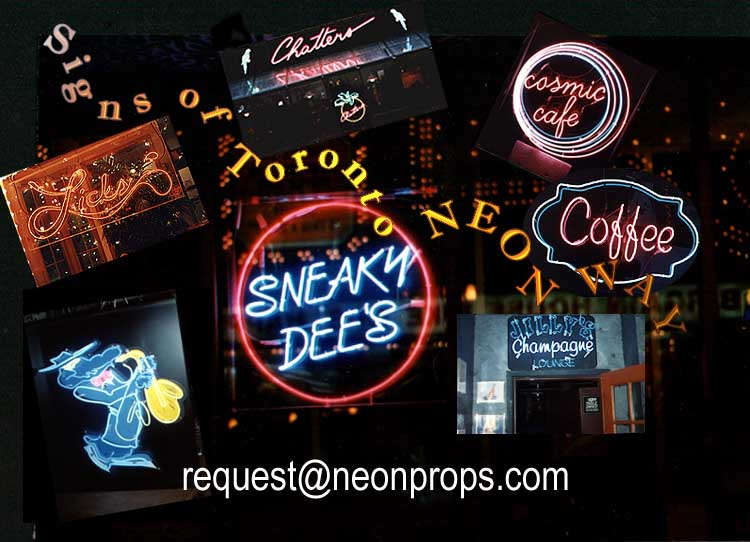Click to view next display of neon interior and exterior products.